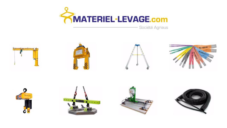 La gamme chantier de matériel levage