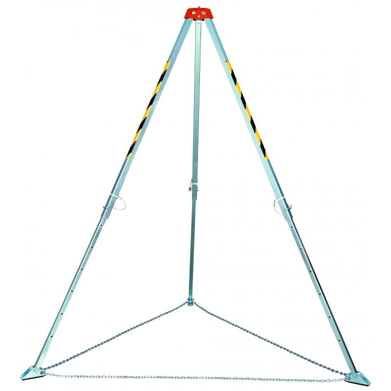 matériels epi travaux hauteur intègre la gamme de trépieds de sécurité